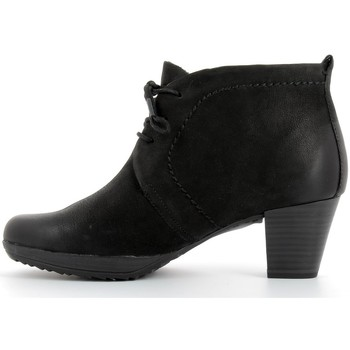 Bottines / Boots Marco Tozzi Bottines en cuir femmes  - 25106-27 Black antic 350x350