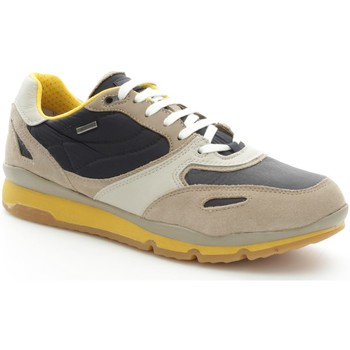 Chaussures Homme Baskets basses Geox U44S7A22FU Basket Homme Sand/Navy Sand/Navy