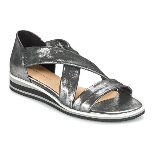 Chaussures Femme Sandales et Nu-pieds Salamander REBECCA Argenté