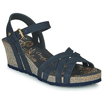 Chaussures Femme Sandales et Nu-pieds Panama Jack VERA Marine