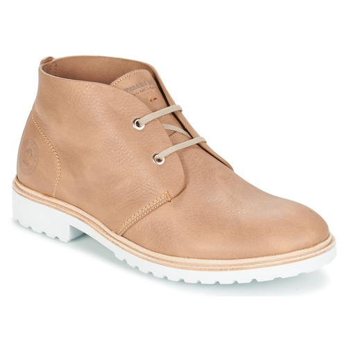 Chaussures Homme Boots Panama Jack BASIC PREMIUM Taupe