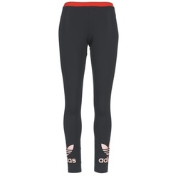 Vêtements Femme Leggings adidas Originals TREFOIL LEGGING Noir / Rose
