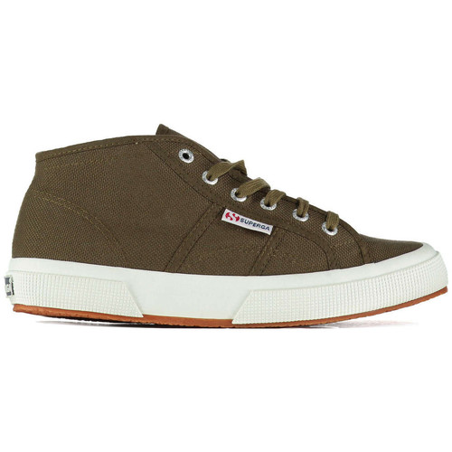 Baskets mode Superga Baskets  2754 Cotu Kaki Femme Kaki 350x350
