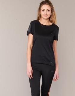 Vêtements Femme T-shirts manches courtes adidas Performance RS SS TEE W Noir