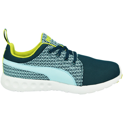 Puma WNS CARSON RUNR KNIT Chaussures Sneakers Femme Vert EverRide