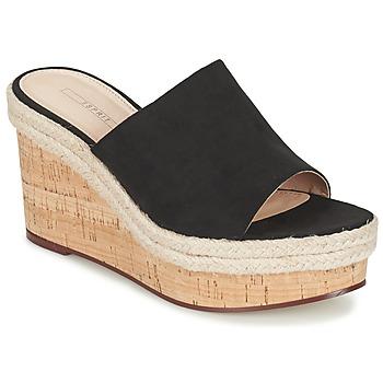 Chaussures Femme Sandales et Nu-pieds Esprit FARY MULE Noir