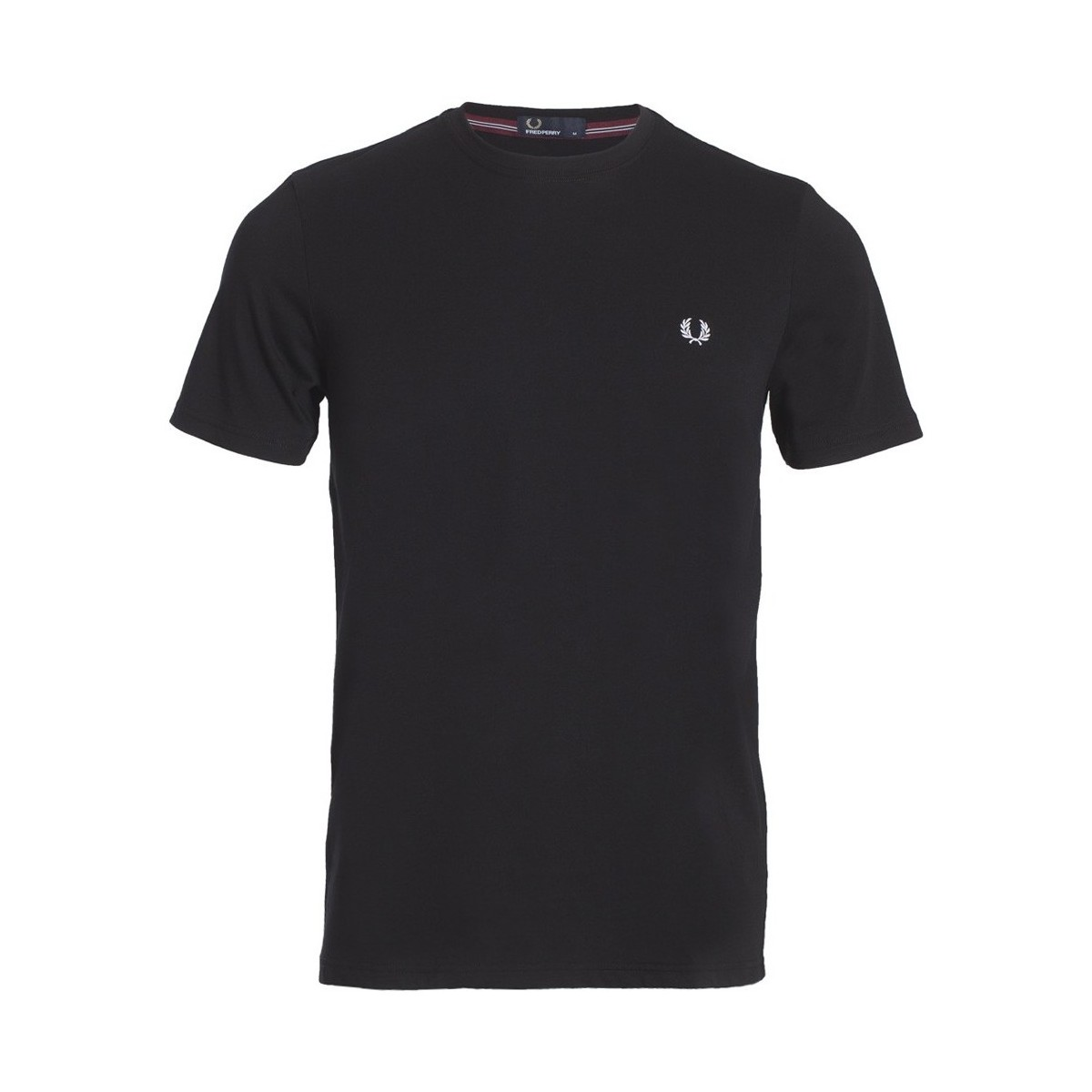Fred Perry Crew Neck T-shirt Noir