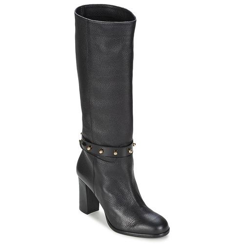 Chaussures Femme Bottes ville Moschino Cheap & CHIC STUD Noir