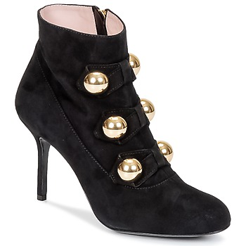 Chaussures Femme Bottines Moschino Cheap & CHIC BOW Noir