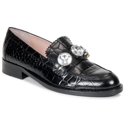 Chaussures Femme Mocassins Moschino Cheap & CHIC STONES Noir
