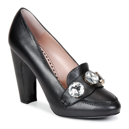 Chaussures Femme Escarpins Moschino Cheap & CHIC STONES Noir