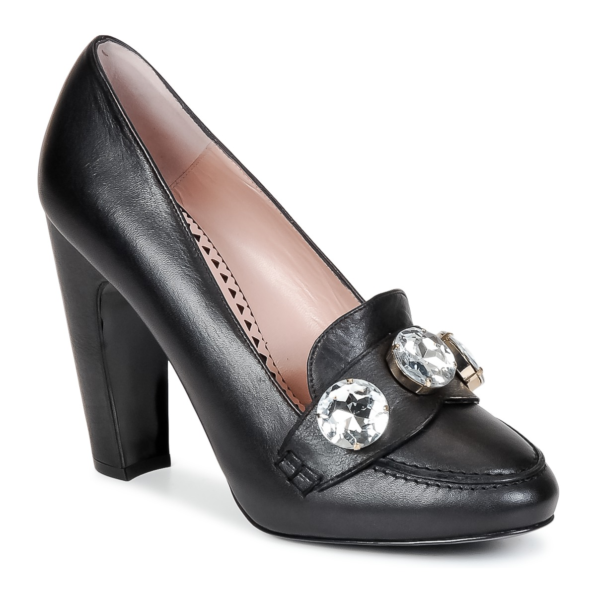 Escarpins Moschino Cheap & CHIC STONES Noir