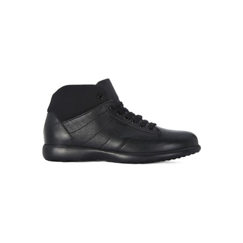 Chaussures Femme Baskets montantes Frau RURALE NERO    100,6