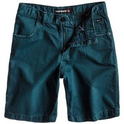 Vêtements Garçon Shorts / Bermudas Quiksilver Short  Kracker - Blue Bleu