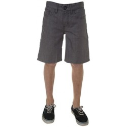 Vêtements Garçon Shorts / Bermudas Volcom Short  New Activist Denim - Grey Gris