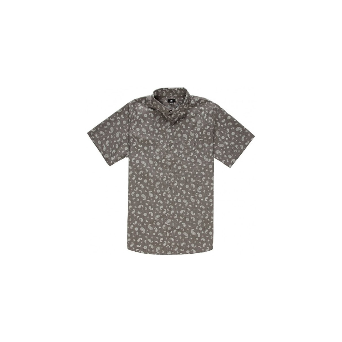 DC Shoes Chemise  Hammer Ss - Grey Gris