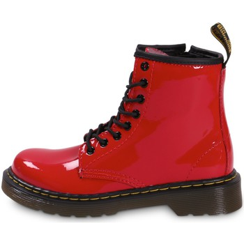 Chaussures Fille Bottines Dr Martens Delaney Enfant Rouge