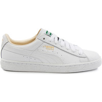 Chaussures Femme Baskets basses Puma Basket Classic Cuir he Blanc