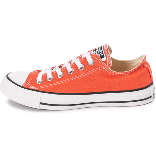 Baskets mode Converse Chuck Taylor All-star Canvas Ox Orange 350x350