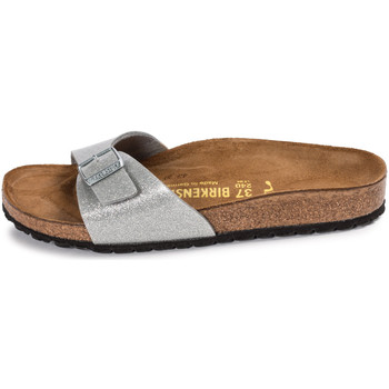 Chaussures Femme Mules Birkenstock Madrid Galaxy Silver Argent