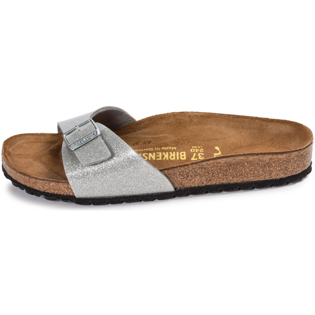 Mules Birkenstock Madrid Galaxy Silver Argent