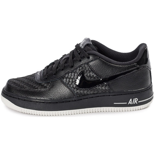Baskets mode Nike Air Force 1 Lv8 Low Enfant Noir 350x350
