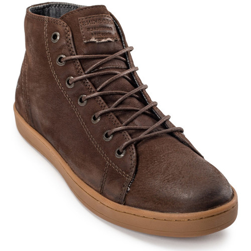 Chaussures Homme Baskets montantes Redskins Slidera Chataigne Beige/Marron
