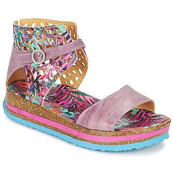 Chaussures Femme Sandales et Nu-pieds Think REMIL Rose / Multicolore