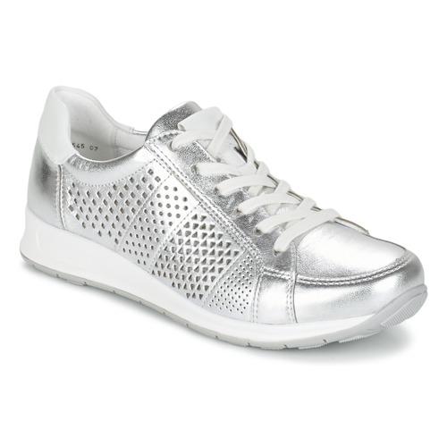 Chaussures Femme Baskets basses Ara CHEVOK Argenté
