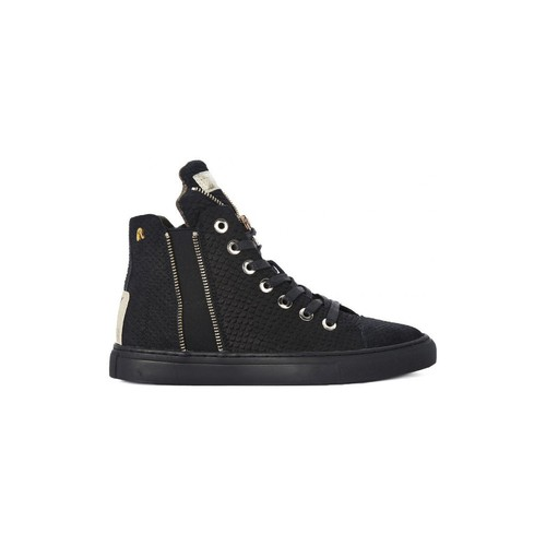 Chaussures Femme Baskets montantes Replay SCARPA BLACK     95,4
