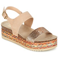 Chaussures Femme Sandales et Nu-pieds Bullboxer GROJETINE Beige / Multicolore