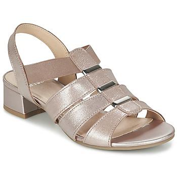 Chaussures Femme Sandales et Nu-pieds Caprice RIJOULE Rose métallisé