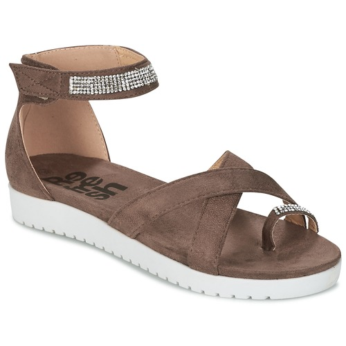 Chaussures Femme Sandales et Nu-pieds Refresh OURILICA Taupe