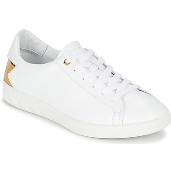Chaussures Femme Baskets basses Diesel S-OLSTICE LOW W Blanc / Doré