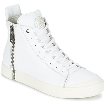 Chaussures Homme Baskets montantes Diesel S-NENTISH Blanc