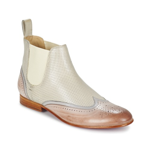 Chaussures Femme Boots Melvin & Hamilton SALLY 19 Blanc