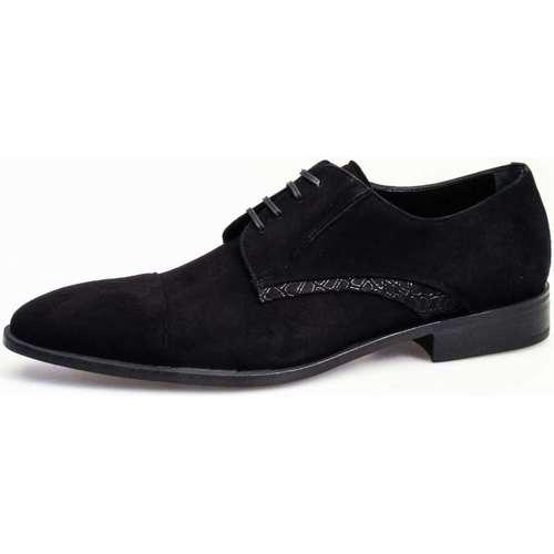Chaussures Homme Baskets montantes Giorgio Morra 11442 Lace up shoes Homme Noir Noir
