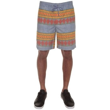 Shorts & Bermudas Volcom Short  Delator Printed Short - Stormy Blue Bleu 350x350