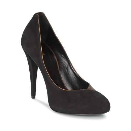 Chaussures Femme Escarpins Roberto Cavalli YPS530-PC219-D0127 Noir / Mordoré