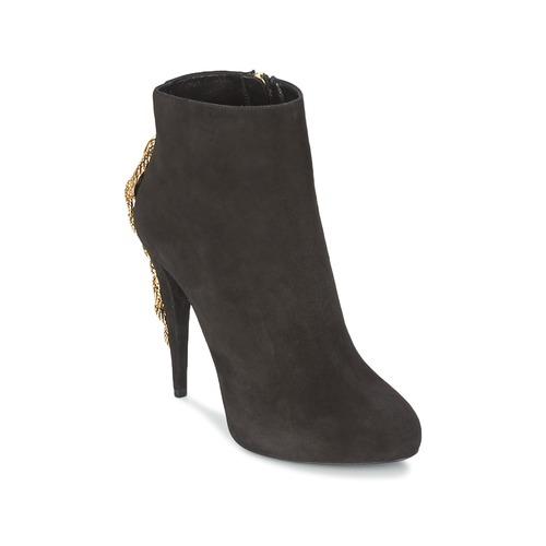 Chaussures Femme Bottines Roberto Cavalli YPS564-PC001-05051 Noir