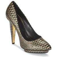 Chaussures Femme Escarpins Roberto Cavalli YDS622-UC168-D0007 Noir / Or
