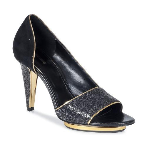 Chaussures Femme Sandales et Nu-pieds Roberto Cavalli YDS637-UF013-05051 Noir