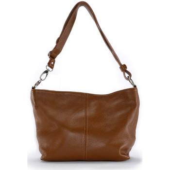 Sacs Femme Sacs porté épaule Oh My Bag Sac à Main cuir femme - Modèle KUTA cognac foncé COGNAC FONCE