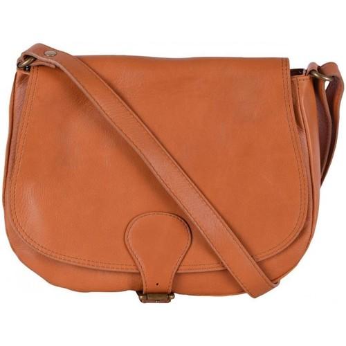 Sacs Femme Sacs porté épaule Oh My Bag Sac à main cuir femme - Modèle Vintage cognac COGNAC