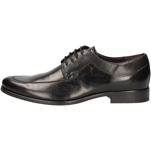 Chaussures Homme Derbies Nicolabenson 1562B Lace up shoes Homme Noir Noir