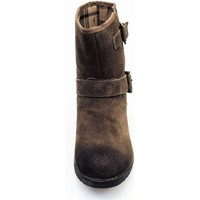 Chaussures Femme Boots Via Di Fuga PAMP 20 D Bottines Femme TAUPE TAUPE