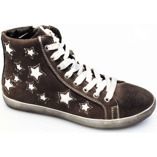 Chaussures Femme Baskets montantes Via Di Fuga SHIK 33 D Sneakers Femme TAUPE TAUPE