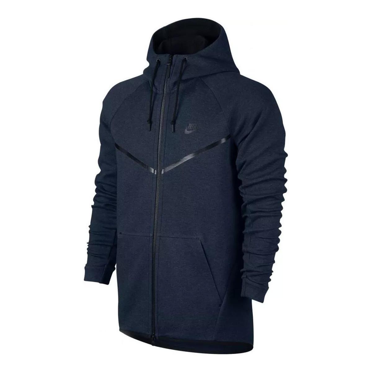 Nike Sweat  Tech Fleece Windrunner - Ref. 805144-473 Bleu