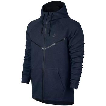 Sweats & Polaires Nike Sweat  Tech Fleece Windrunner - Ref. 805144-473 Bleu 350x350
