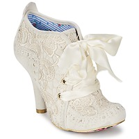 Chaussures Femme Bottines Irregular Choice ABIGAILS THIRD PARTY Blanc crème